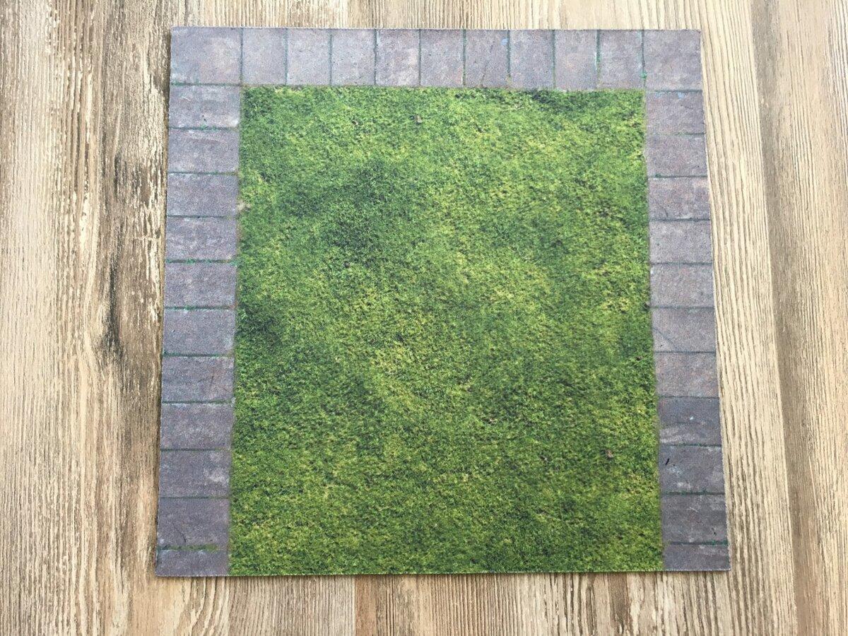 image about 2d Printable Terrain named Asphalt 2D Terrain Established 2