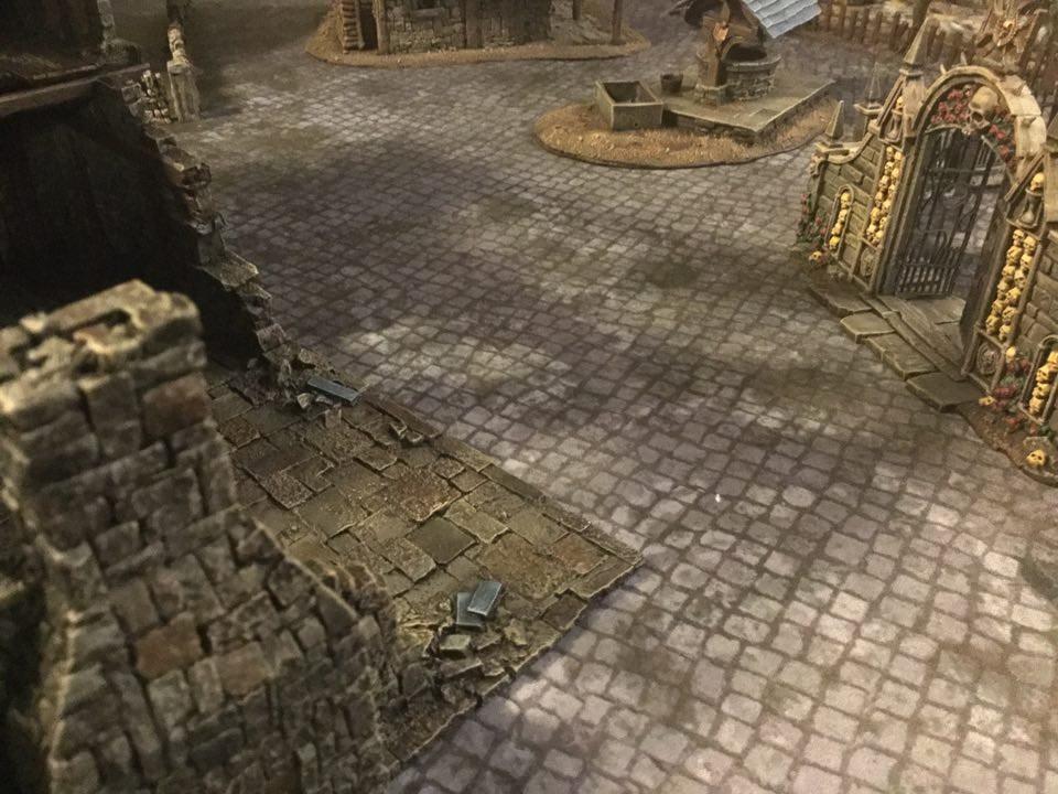 Cobblestone Battlefield 2 4 X4 Game Mat