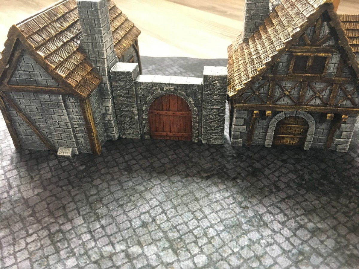 Medieval City Walls 40 Pcs