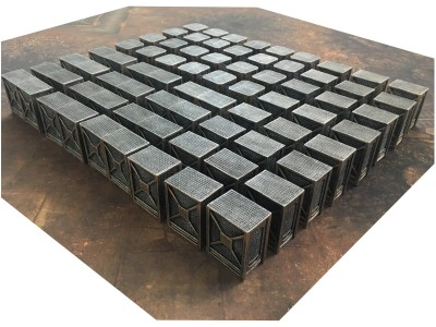 Industrial Walls 60pcs + 6'x4' Game Mat