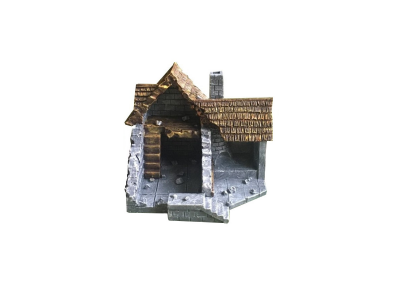 Medieval Ruined House type C