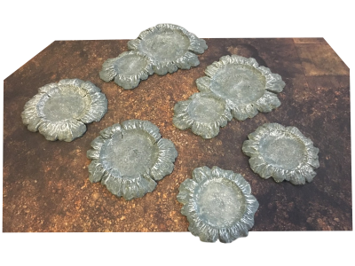 Craters 6pcs Set