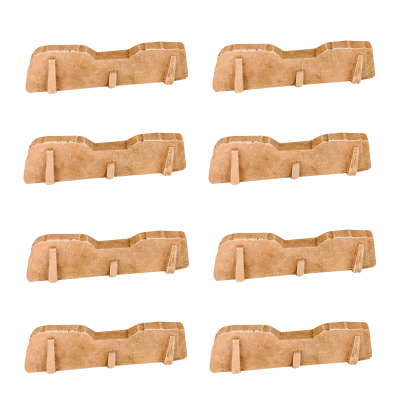 Badlands Walls 8pcs