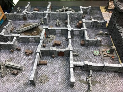 Dungeon Walls 40pcs