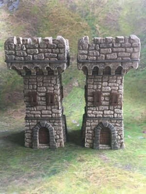 Fantasy Watchtowers B 2pcs