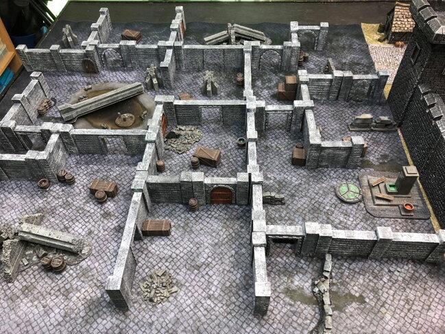 Wargaming gaming mats, terrain and accessories