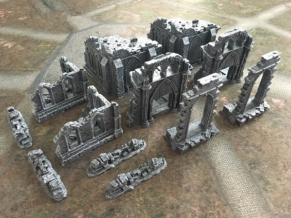 Ruins and Gates of the Realms Full Set