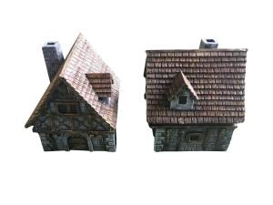 Medieval Houses type B 2pcs
