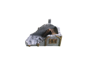 Medieval Ruined House type A