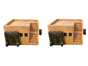 Badlands Bunkers with stairs 2pcs