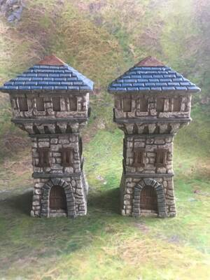 Fantasy Watchtowers C 2pcs