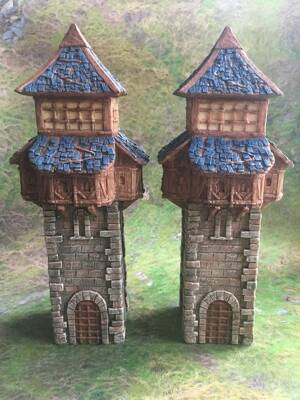 Fantasy Watchtowers A 2pcs